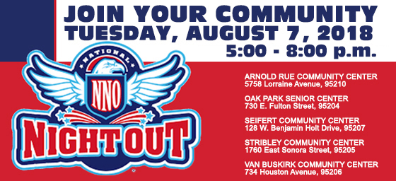 National Night Out - August 7, 2018