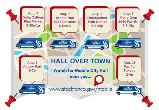 Mobile City Hall - August Dates