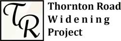 Thornton Road Widening