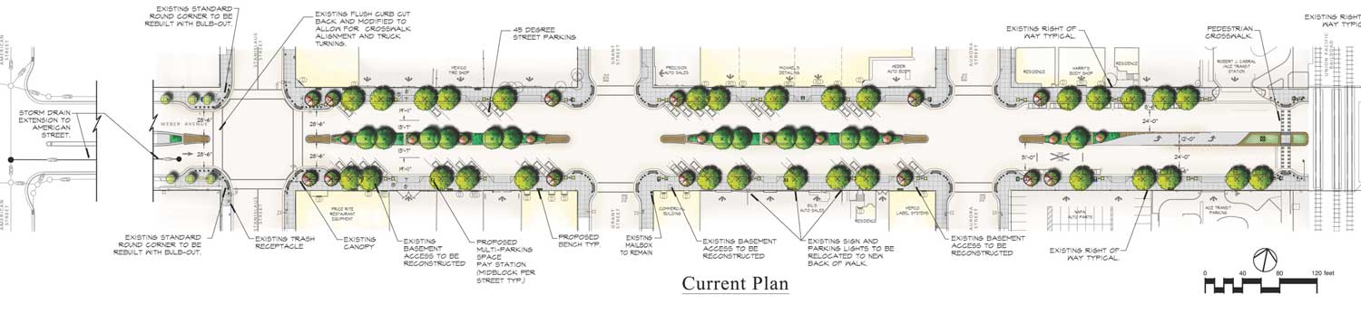 Weber Avenue Streetscape Project