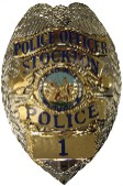 Stockton Police Officer Badge