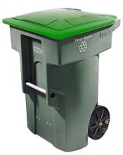 Photo of a Green and Food Waste Cart
